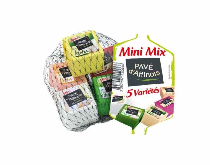 Filet de Mini Pavé d'Affinois Mix 5 variétés