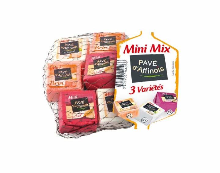 Filet de Mini Pavé d'Affinois Mix 3 variétés