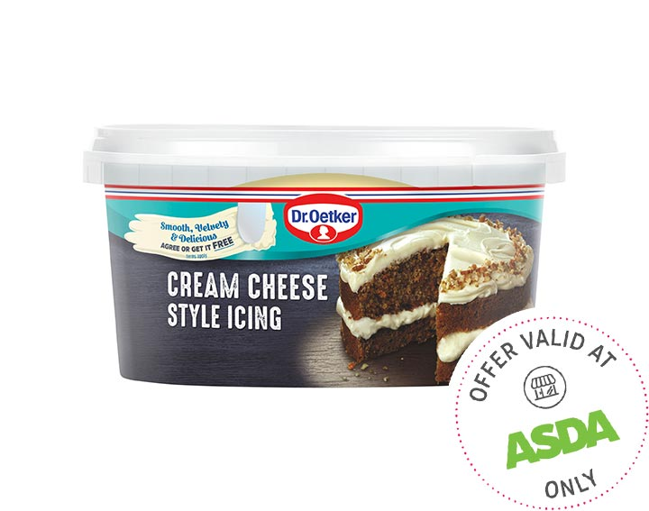 Cream Cheese Style Icing 400g
