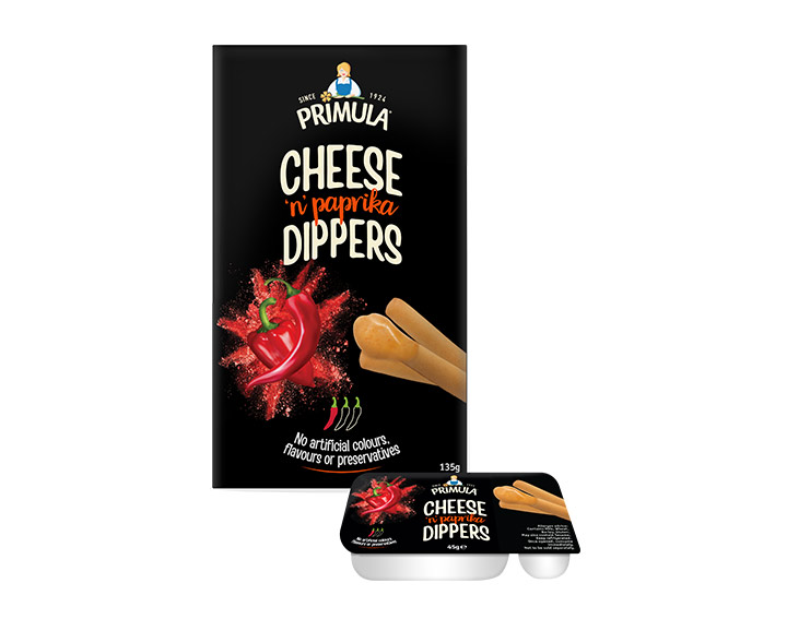 Cheese 'n' Paprika Dippers 3x45g