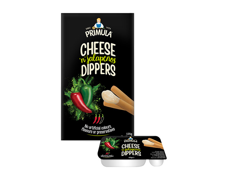Cheese 'n' Jalapenos Dippers 3x45g