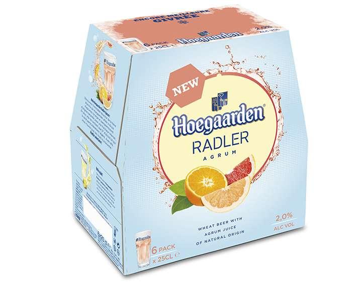 Hoegaarden Radler Agrum - pack de 6x25cl