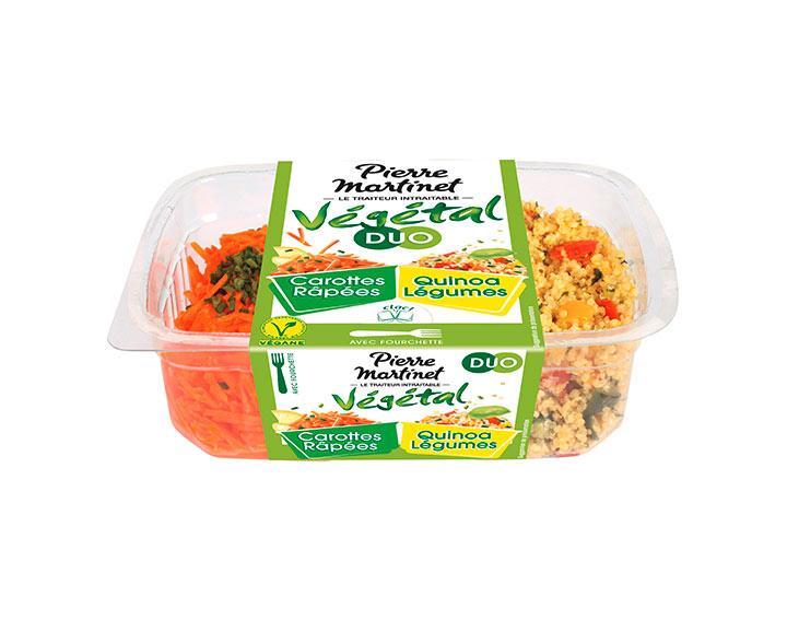 DUO Carottes Râpées & Quinoa Légumes