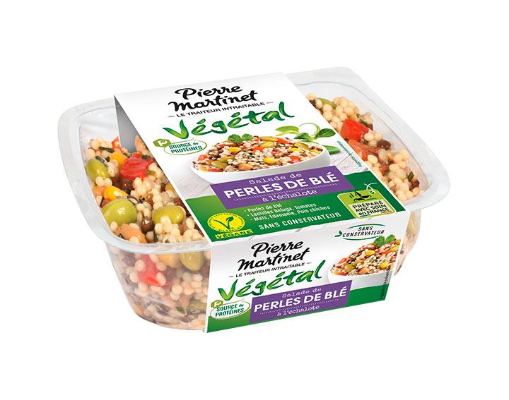 Salade de Perles de Blé Source de protéines