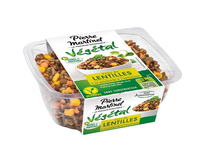Trio de Lentilles Source de protéines