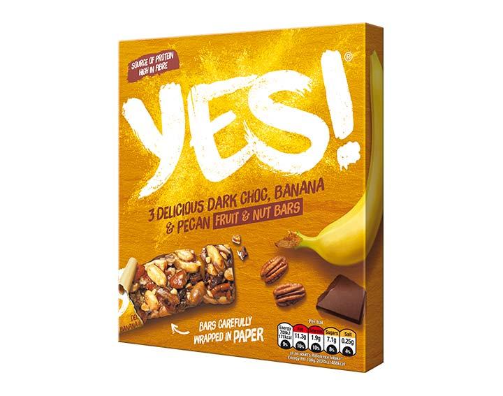Banana and Pecan Nut Bar 3 pack