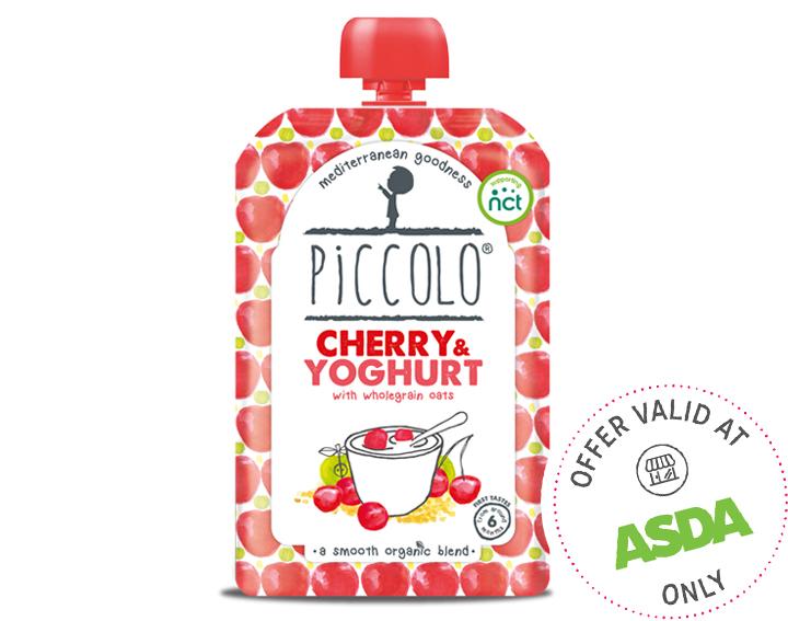 Organic Cherry & Yoghurt 110g