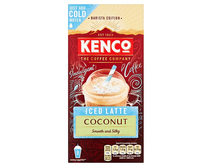 Instant Iced Latte Coconut 8x21.5g