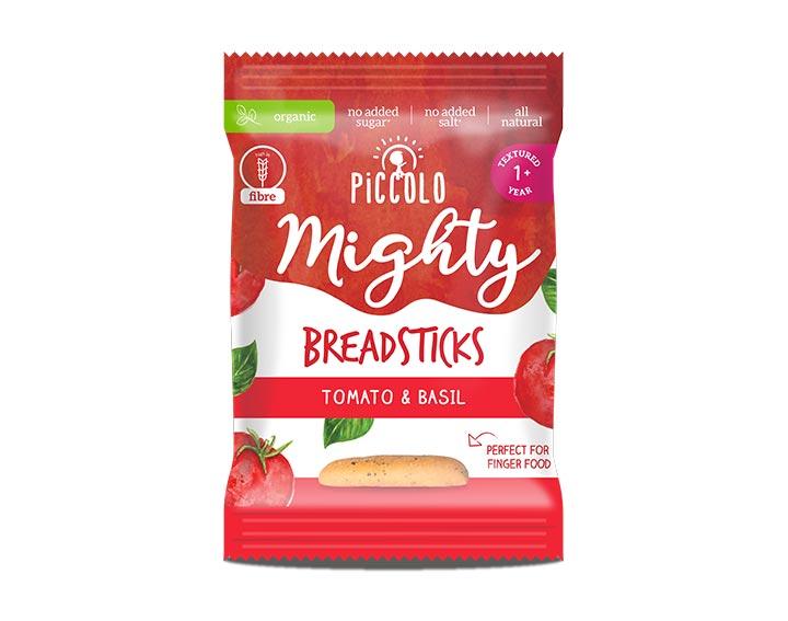 Mighty Breadsticks Tomato & Basil 20g 12m+