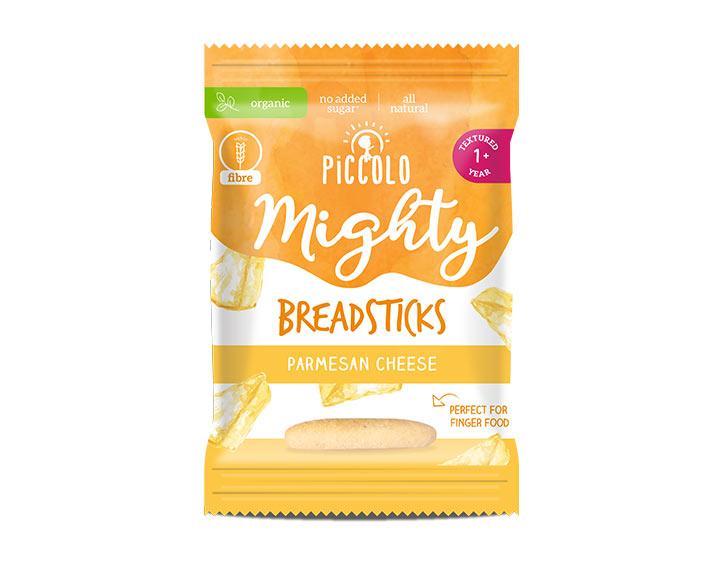 Mighty Breadsticks Parmesean Cheese 20g 12m+