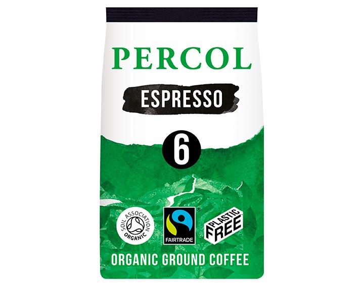 Intense Espresso Ground Coffee 200g
