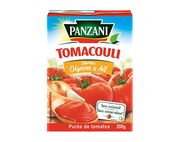 Oignon & Ail 100% tomates fraîches 200g
