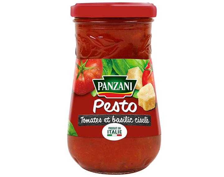 Pesto tomates et basilic ciselé 200g