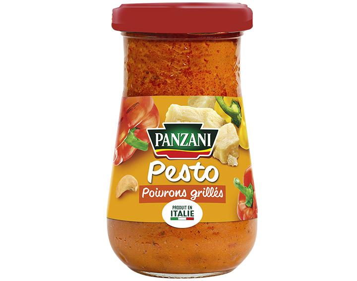 Pesto poivrons grillés 190g