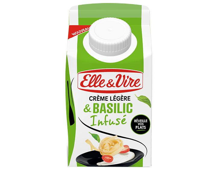 Crème légère & Basilic infusé 25cl