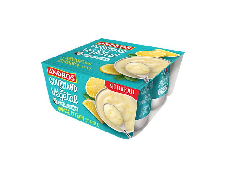 Brassé Citron au lait de coco 4x100g