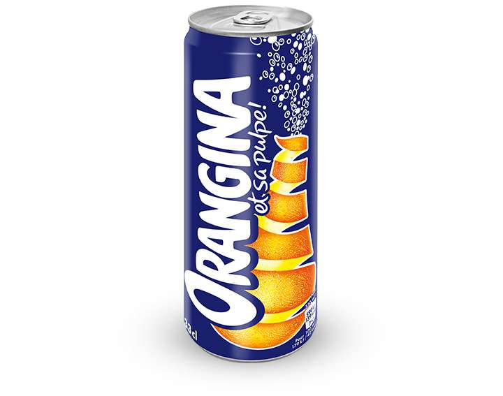 Orangina Slim Can* 33cl  * Canette fine