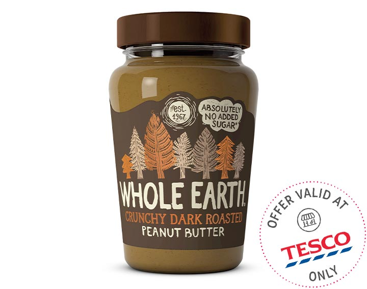 Dark Roasted Peanut Butter 340g