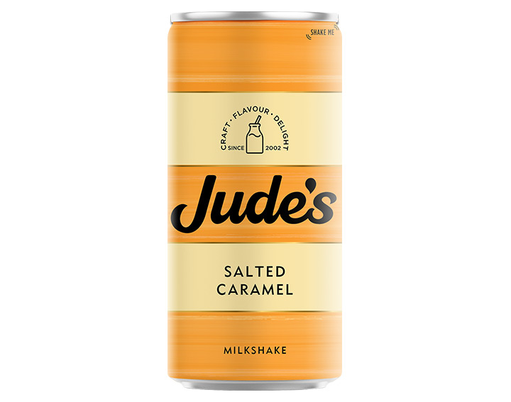 Salted Caramel Milkshake 250ml