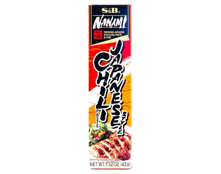 Pâte de Yuzu et piments rouges, tube 43g