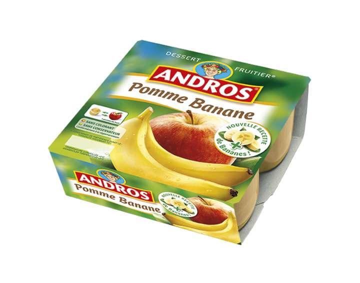Dessert Fruitier Andros  - Pomme Banane