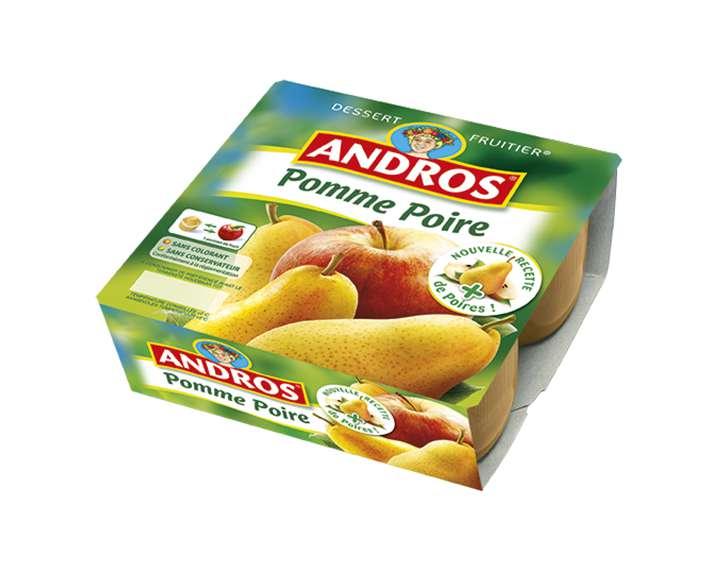 Dessert Fruitier Andros  - Pomme Poire