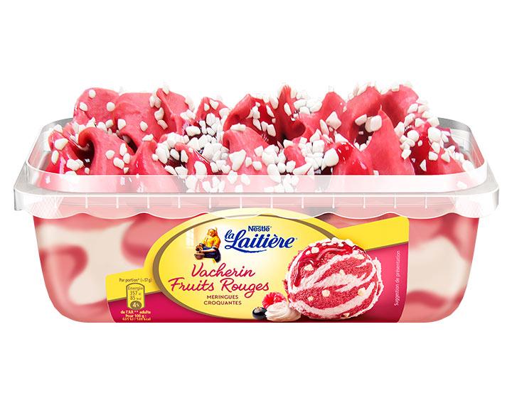 La Laitière Vacherin Fruits Rouges