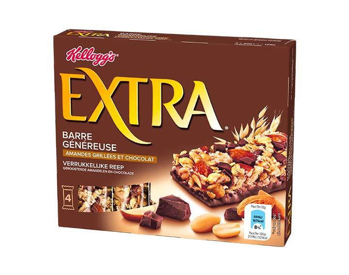 Amandes Grillées et Chocolat 4x32g