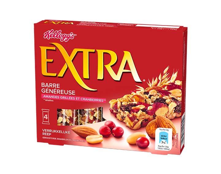 Amandes Grillées et Cranberries* 4x32g (*Airelles)