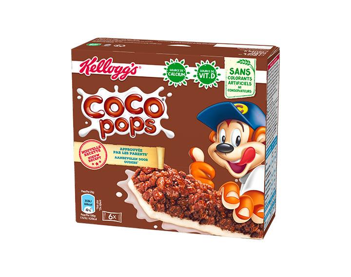 Coco Pops Goût Chocolat 6x20g