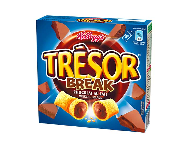 Trésor Break Chocolat au Lait 5x26g