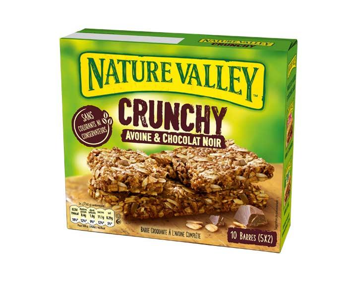 Crunchy Avoine & Chocolat Noir 5 x 42g