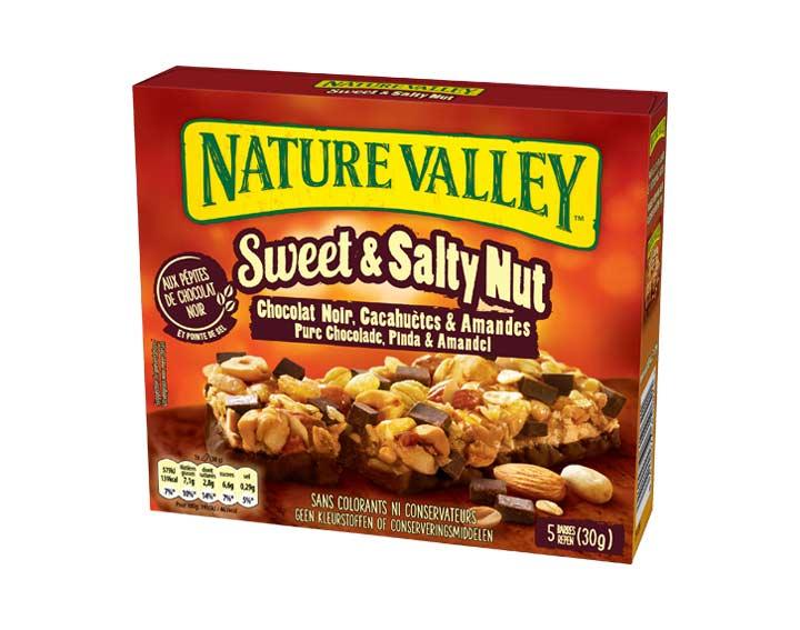 Sweet & Salty Nut Chocolat Noir 5 x 30g