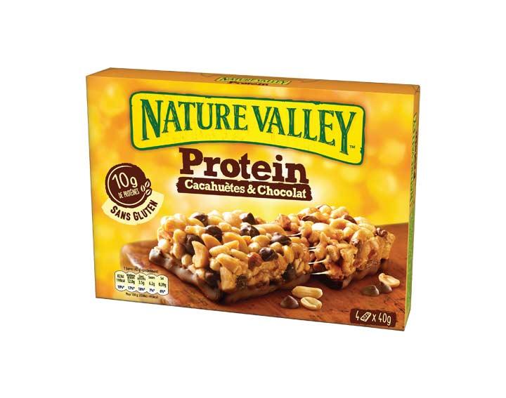 Protein Cacahuètes & Chocolat 4 x 40g
