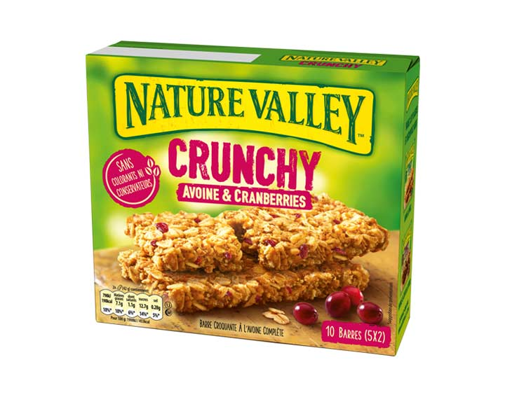 Crunchy Avoine & Cranberries 5 x 42g