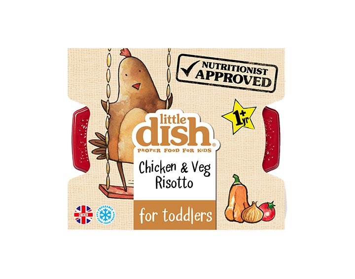 Chicken & Veg Risotto for Toddlers 200g