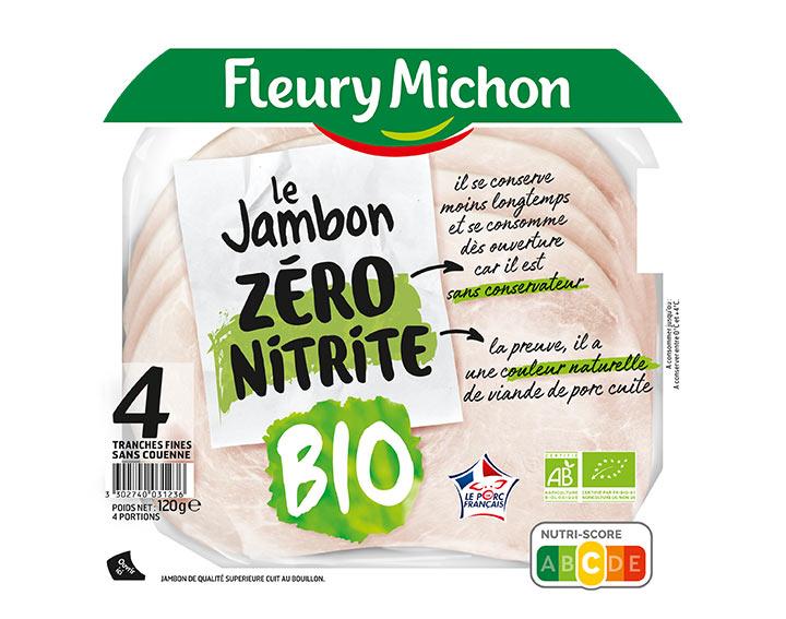 Jambon de Porc Bio 4T 120g