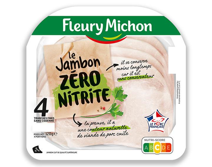Jambon de Porc 4T 120g