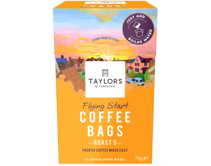 Flying Start Coffee Bags 10 pack