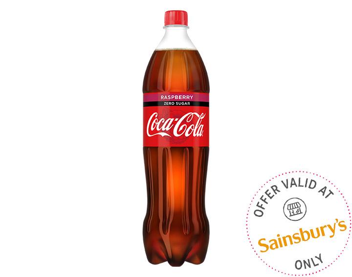 Coca-Cola Zero Raspberry 1.25L