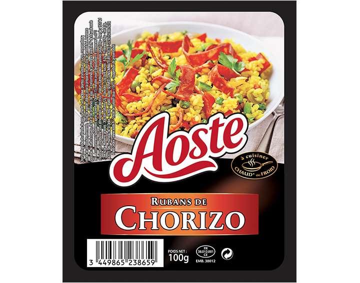 Rubans de Chorizo Aoste 100g