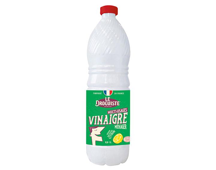 Vinaigre ménager parfum naturel de citron