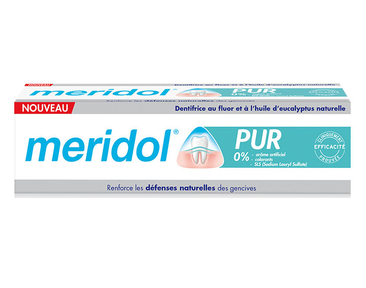 Dentifrice meridol® PUR
