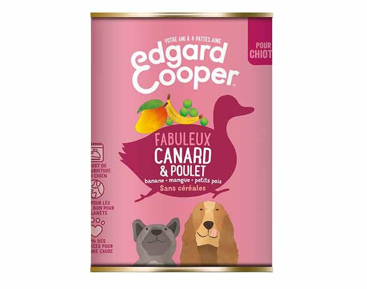 Canard & Poulet, bananes, mangues, pois