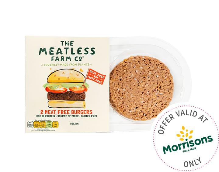 Fresh Plant-Based Burgers 2x113g