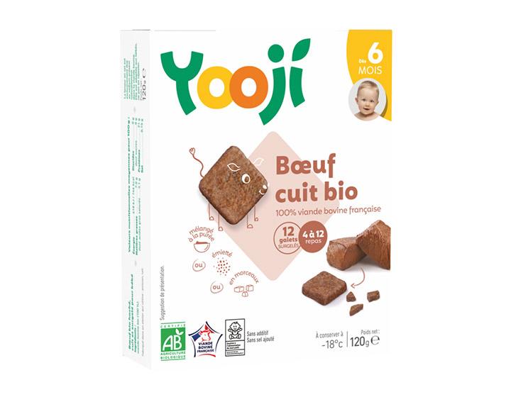 Boeuf bio - jusqu'à 12 repas (120g)