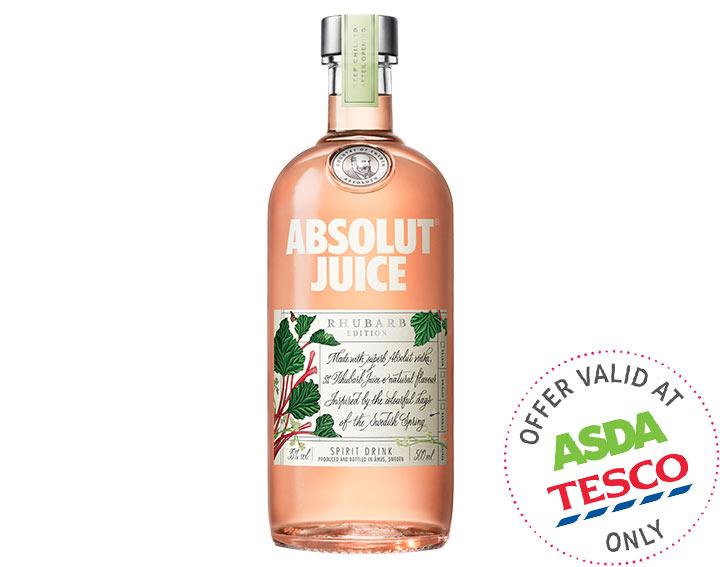 Absolut Juice Rhubarb Edition 500ml