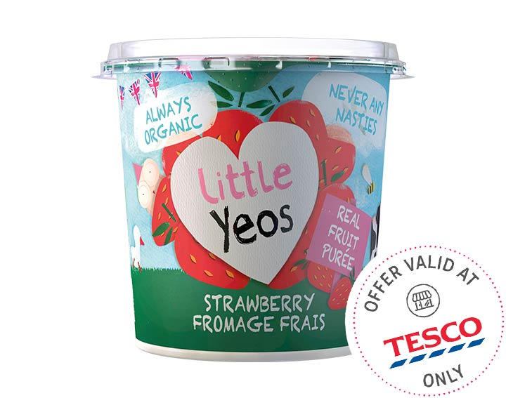 Strawberry Fromage Frais Big Pots 340g