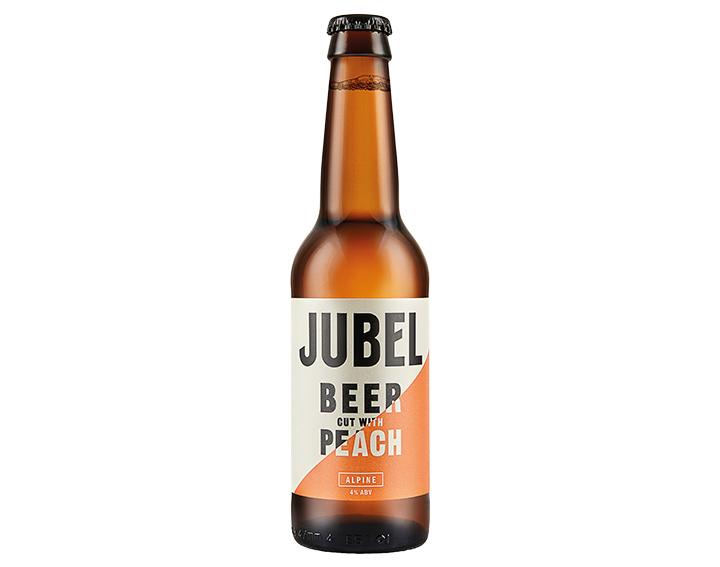Alpine: Beer cut with Peach 330ml