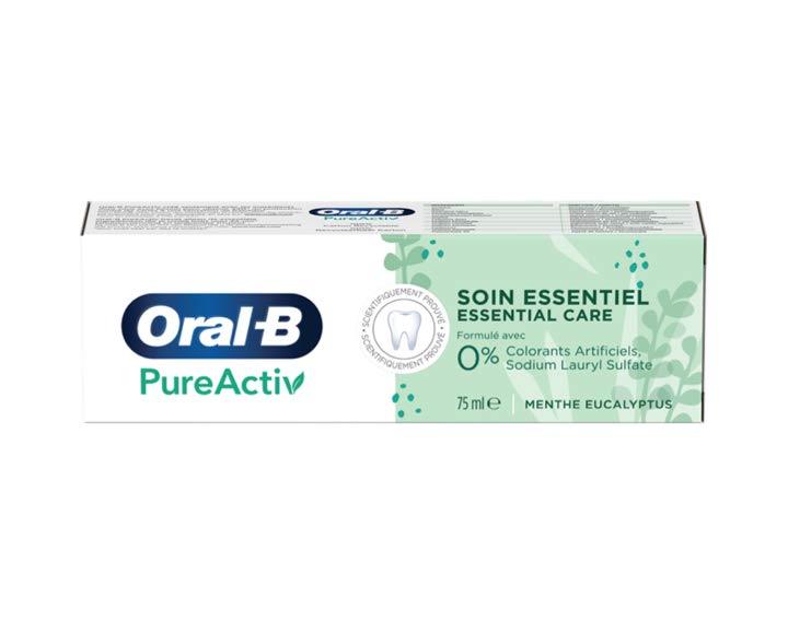 Oral-B PureActiv Soin Essentiel